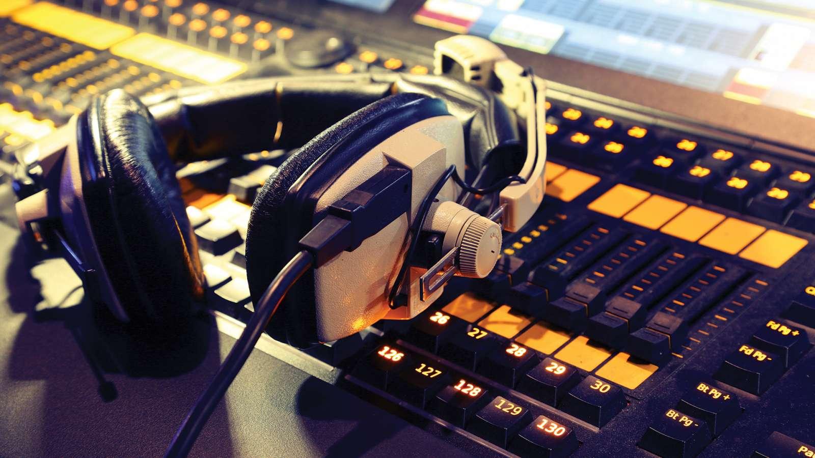Audio-visual post-production suites